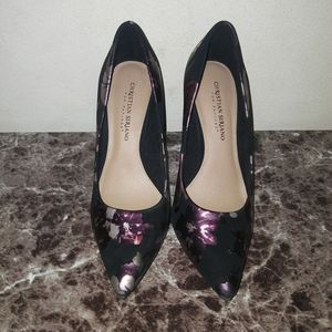 Christian Siriano womens heels size 8.5 floral